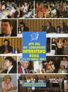 44th Intersteno Congress - Rome 2003
