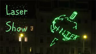 Intersteno Laser Show