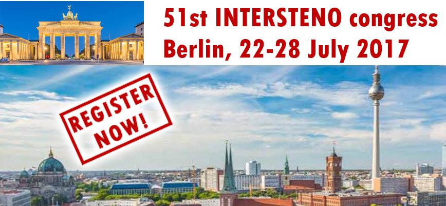 51st Intersteno Congress - Berlin 2017
