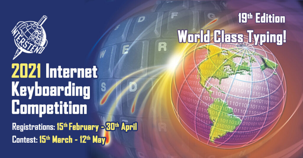 2021 Internet Keyboarding Competition